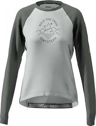 Zimtstern Womens Pureflowz Shirt L/S Maglietta da ciclismo Donna   grigio/nero