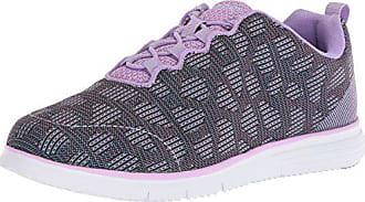 Propét Propet Womens TravelFit Sneaker, Purple, 10 Narrow US