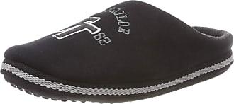 Tom Tailor Mens 5881701 Open Back Slippers, Black (Black 00001), 7.5 UK