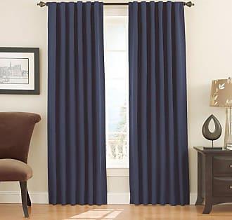 Eclipse Fresno Blackout Window Curtain Panel Dark Blue - 11353052X084DKB