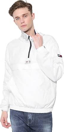 Tommy Jeans Jaqueta Corta Vento Tommy Jeans Popove Branca