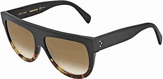 99f3bae45bd Celine 41026 S FU55I Black Tortoise Shadow Pilot Sunglasses Lens Category 2  S