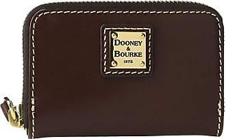 Dooney & Bourke Selleria Zip Around Credit Card Case (Chestnut/Chestnut Trim) Credit card Wallet