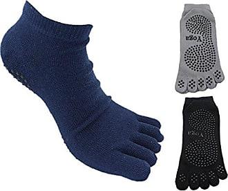 BONAMART Damen Männer Mädchen Unisex Socken Winter Flip Flop Zehensocken 37-43