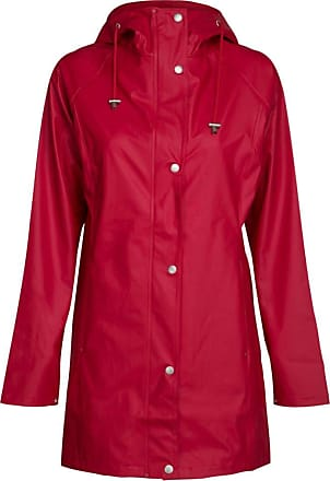 Ilse Jacobsen | RAIN87 | True Raincoat | 100% Polyester Tricot with PU Coating | Red | 36