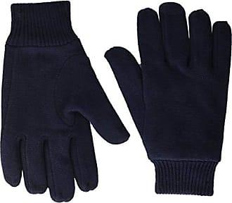 LACOSTE Blue Wool Blend Gloves