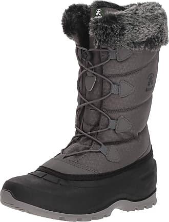 kamik Momentum2, Womens Snow Boots Snow Boots, Grey (Charcoal-Charbon), 8 UK (41 EU)