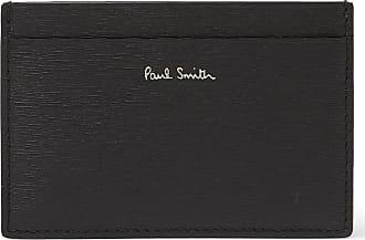 Paul Smith Colour-block Textured-leather Cardholder - Black