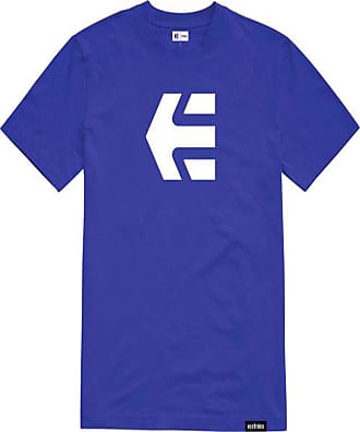 Etnies Icon Short Sleeve T-Shirt in Royal (X Large)