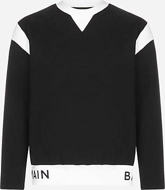 Balmain Logo cotton sweatshirt - BALMAIN - man