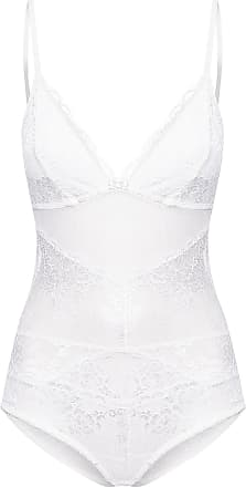 La Rouge Belle BODY REGATA RENDA BOUQUET - OFF WHITE