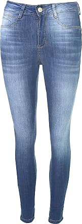 Sawary Calça Jeans Sawary Skinny Agmec Azul