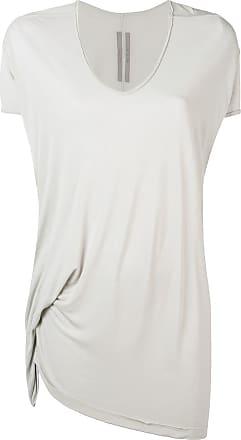 Rick Owens Camisa oversized assimétrica - Cinza