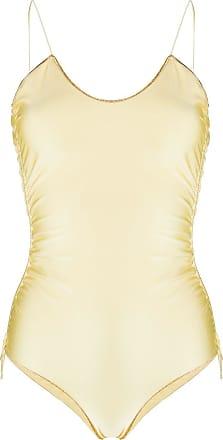 Oséree Maiô com brilho - Amarelo