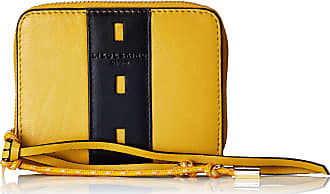 Liebeskind Dive Bag Conny Wallet Medium, Womens Wallet, Yellow (Tawny Yellow), 2x10x13 cm (W x H L)
