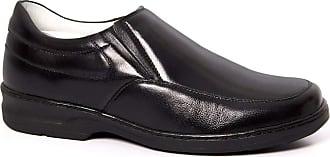 Generico Sapato social, masculino, semi-ortopédico, no stress, em legitimo couro mestiço (pelica), forrado em napa de couro, palmilha gel couro, solado de borr