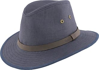 d6fdefea05e Failsworth Mens Irish Linen Safari Fedora Hat (Summer/Holiday/Classic) (X