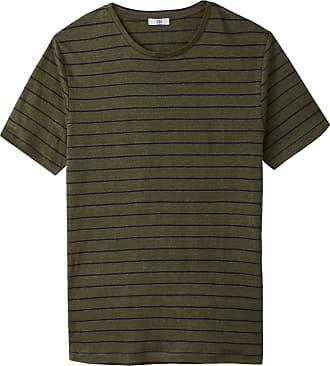 La Redoute Collections Gestreiftes T-Shirt aus Leinen mit rundem Ausschnitt  - weitere - La 1f1c123696