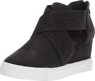 Yoki Womens DEMIAN-17 Sneaker, Black, 6.5 UK