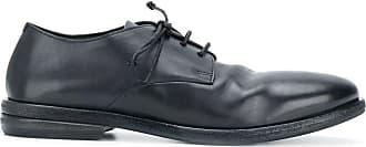 Marsèll Sapato de couro com cadarço e efeito desconstruído - Azul