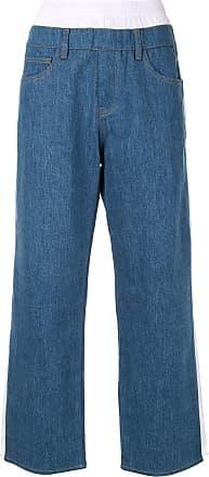 Koché Calça com listra lateral - Azul