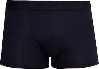 Zimmerli 700 Pureness Stretch-jersey Boxer Briefs - Mens - Navy