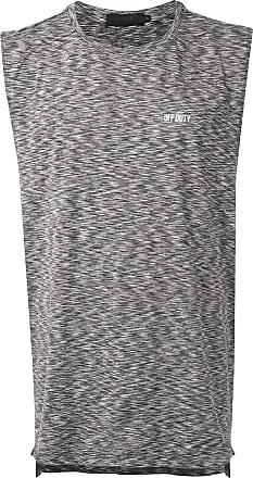 Off Duty Regata com estampa marmorizada - Cinza