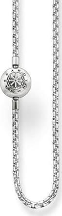 Acotis Limited Thomas Sabo Karma Beads Sterling Silver Necklace KK0002-001-12 Size 40