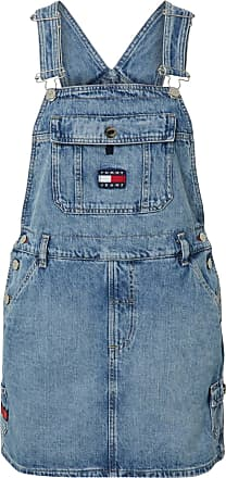 Tommy Jeans Kleid DUNGAREE blue denim