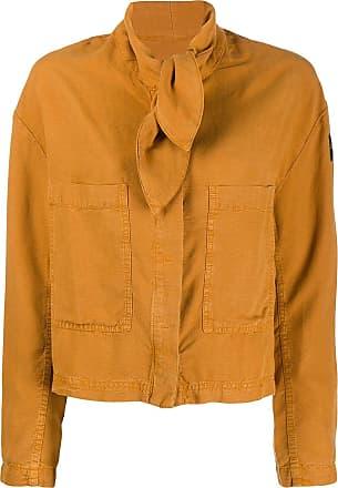 Ecoalf Blusa com amarração frontal - Amarelo