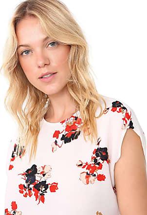 Vero Moda Blusa Vero Moda Floral Off-White