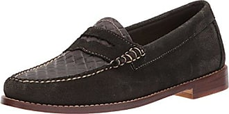 G.H. Bass & Co. Womens Whitney Penny Loafer, Black 936, 9 M US