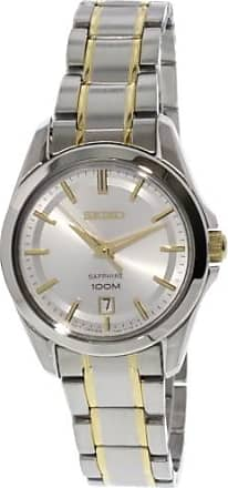 Seiko Womens Conceptual SXDF59 Silver Stainless-Steel Japanese Quartz Dress Watch