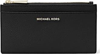 Michael Kors PORTA CARTE DI CREDITO GRANDE IN PELLE 42 colore NERO 44046661a6c