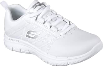 Skechers Womens Work SURE TRACK ERATH II Sneakers Damen Schuhe Weiß, Schuhgröße:38 EU