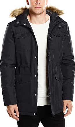 Only & Sons Only and Sons Mens Skeet Coat, Black, Medium