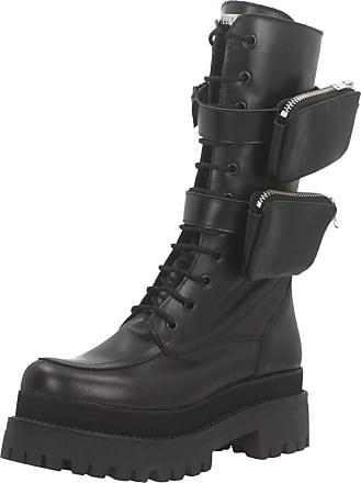 Yellow Women Womens Boots Found Black 5.5 UK