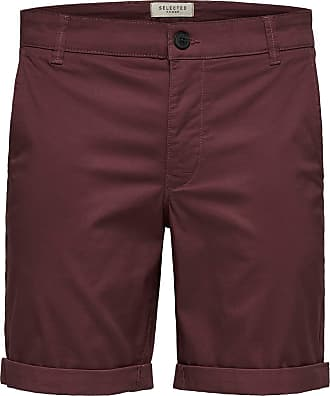 Selected Homme Mens SLHSTRAIGHT-Paris Shorts W NOOS, Wild Ginger, XXL