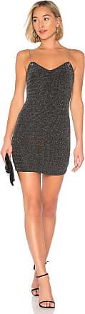 Superdown Sav Chain Strap Dress in Black