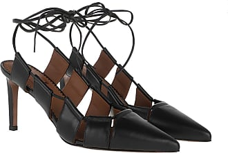 L'autre Chose Sandals - Sling Back Nappa Lux Black - black - Sandals for ladies