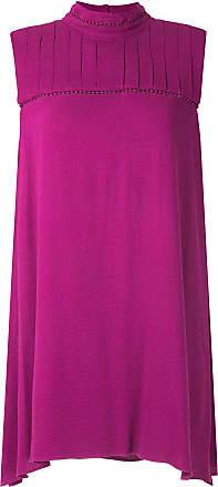 OLYMPIAH Vestido curto Hagia gola alta - Rosa