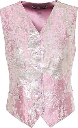 Dolce & Gabbana Silk-blend jacquard vest