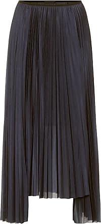 Helmut Lang High-rise pleated midi skirt