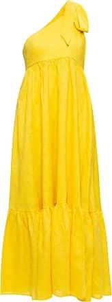 Zimmermann One-shoulder Dress Womens Yellow