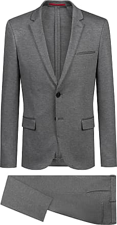 28a9b4d31 HUGO BOSS Extra-slim-fit suit in mid-weight stretch jersey