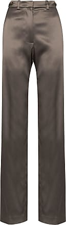 We11done high-rise straight-leg trousers - Brown