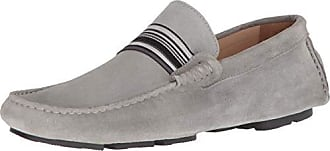 Bugatchi Mens Driver Driving Style Loafer, Grigio, 9 Medium US