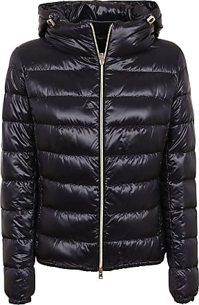 Herno Fashion Woman PI0833D120179300 Black Polyester Down Jacket | Fall Winter 20