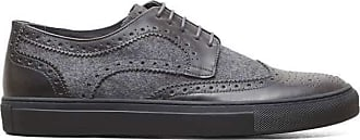 Kenneth Cole Womens roam Leather Low Top Lace Up Fashion, Grey, Size 7.0 US / 5 UK US