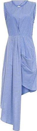 Isabella Fiorentino x OQvestir Vestido Dobradura Isabella Fiorentino - Azul